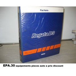 RTA CATALOGUE MANUEL DE REPARATION FIAT REGATA DIESEL  - EPA30 - .