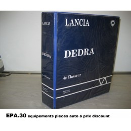 RTA CATALOGUE MANUEL DE REPARATION LANCIA DEDRA GAMME 98  - EPA30.