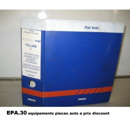 RTA CATALOGUE MANUEL N° 1 ASSISTANCE TECHNIQUE DIAGNOSTIC FIAT MULTIPLA  - EPA30 - .