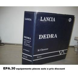 RTA CATALOGUE MANUEL DE REPARATION LANCIA DEDRA GAMME 94  - EPA30 - .