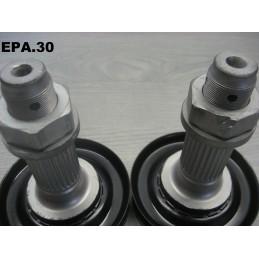 2 MOYEUX ROUES ARRIERE ALFA ROMEO 75 GIULIETTA GTV TYPE 116 - EPA30 - .
