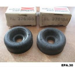 2 CAPUCHONS CYLINDRE DE ROUE ARRIERE RENAULT 4 5 6 R4 R5 R6  - EPA30 - .