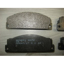 PLAQUETTES FREIN FIAT 124 125 127 128 131 132 FIORINO PANDA RITMO X1/9  - EPA30 - .