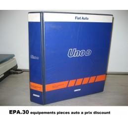 RTA CATALOGUE MANUEL ASSISTANCE TECHNIQUE FIAT UNO D TD  - EPA30 - .