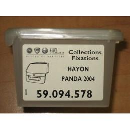 KIT FIXATION POUR  HAYON FIAT PANDA 2004  - EPA30 - .