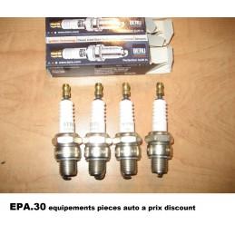 4 BOUGIES ALLUMAGE RENAULT ESTAFETTE  - EPA30 - .