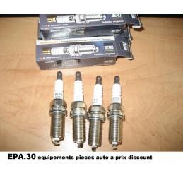 4 BOUGIES ALLUMAGE CITROEN BERLINGO C2 C3 C4 C5 C8 EVASION JUMPY XSARA - EPA30 - .