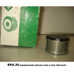 GALET ACCESSOIRE PEUGEOT 1007 206 207 3008 307 308 406 407 5008 607  - EPA30 - .