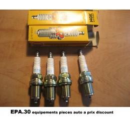 4 BOUGIES ALLUMAGE CITROEN AX BX RENAULT LAGUNA MEGANE SCENIC PEUGEOT 306  - EPA30 - .