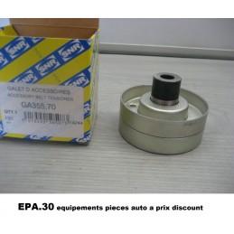 GALET TENDEUR DE COURROIE ACESSOIRE RENAULT ESPACE 3 LAGUNA 1 SAFRANE 2  - EPA30 - .