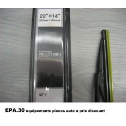 2X BALAIS D' ESSUIE-GLACE LHD 550mx350mm HYUNDAI GETZ - EPA30 - .