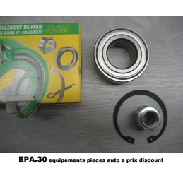 ROULEMENT DE ROUE AVANT CITROEN C2 C3 SAXO XSARA PEUGEOT 106 206 306  - EPA30 - .