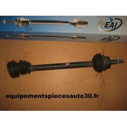 CARDAN TRANSMISSION AV GAUCHE AUDI 80 90 sans ABS - EPA30 - .