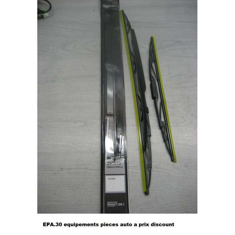 2X BALAIS D' ESSUIE-GLACE 600mmX400mm HYUNDAI TUCSON  - EPA30 - .