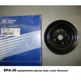 POULIE DE POMPE A EAU HYUNDAI H1 H-1 STAREX TERRACAN KIA K2500 PREGIO  - EPA30 - .