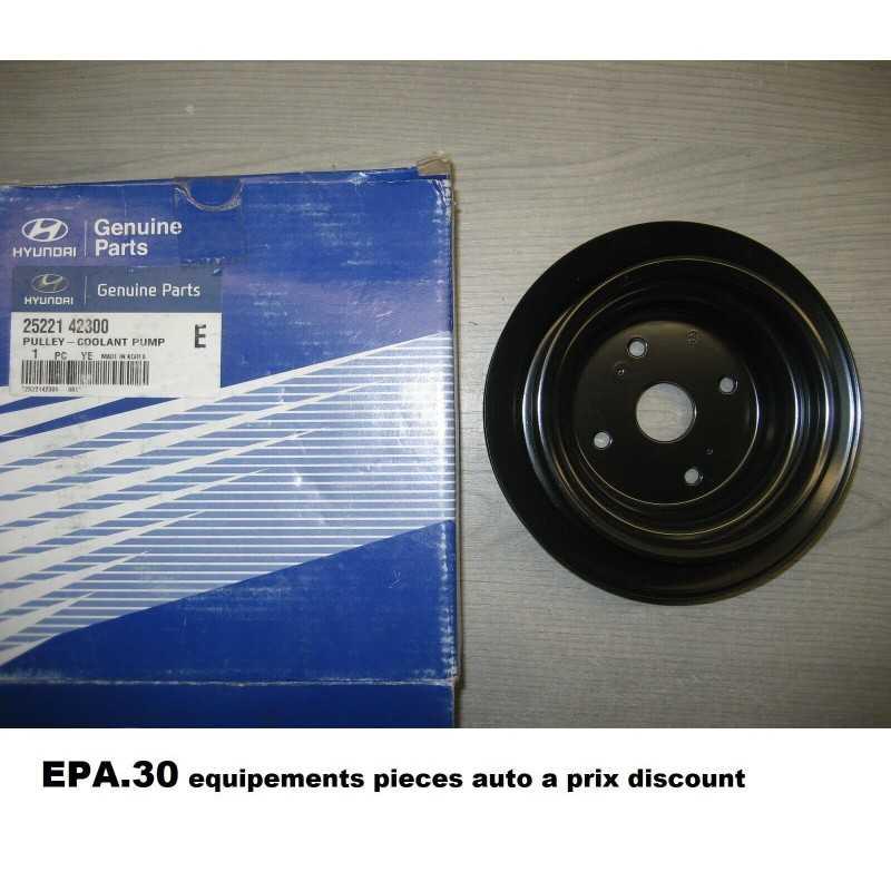 POULIE DE POMPE A EAU HYUNDAI H1 H-1 STAREX TERRACAN KIA K2500 PREGIO - EPA30.