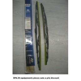 2X BALAIS D' ESSUIE-GLACE 550mmX500mm HYUNDAI TERRACAN  - EPA30 - .