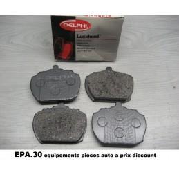 JEU DE 4 PLAQUETTES DE FREIN AVANT FORD TRANSIT 2 3  - EPA30 - .