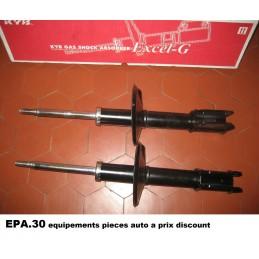 PAIRE AMORTISSEURS AVANT RENAULT CLIO 1 entraxe 58 mm - EPA30 - .