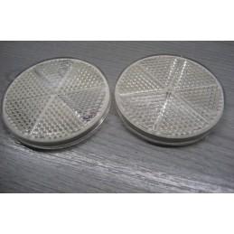 2 CATADIOPTRES BLANC A COLLER - 8RA002014-091 8RA002014091 - EPA30 - .