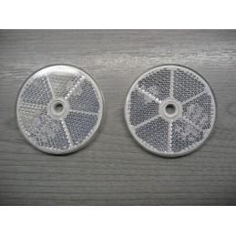 2 CATADIOPTRES BLANC A FIXER - 8RA002014-042 8RA002014042 - EPA30 - .