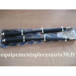 2 FLEXIBLES FREIN AVANT FIAT 132 ARGENTA  - EPA30 - .