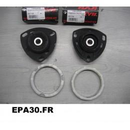 PAIRE DE BUTEES COUPELLES DE SUSPENSION AVANT AUDI 100 A6 V8 - EPA30 - .