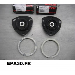PAIRE DE BUTEES COUPELLES DE SUSPENSION AVANT AUDI 100 A6 V8 - EPA30 - .
