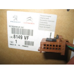 RETROVISEUR CHAUFFEUR PEUGEOT 407 (6D/6E) 02/04-12/11 - EPA30 - .