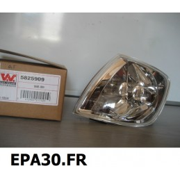 FEU CLIGNOTANT AVANT CHAUFFEUR VOLKSWAGEN POLO (6N2) 10/99-10/01 - EPA30 - .