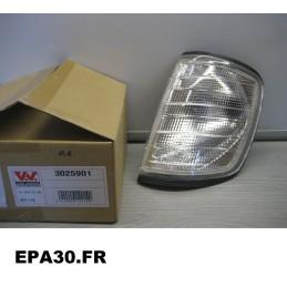 FEU CLIGNOTANT AVANT CHAUFFEUR MERCEDES classe E 01/85-06/96 - EPA30 - .
