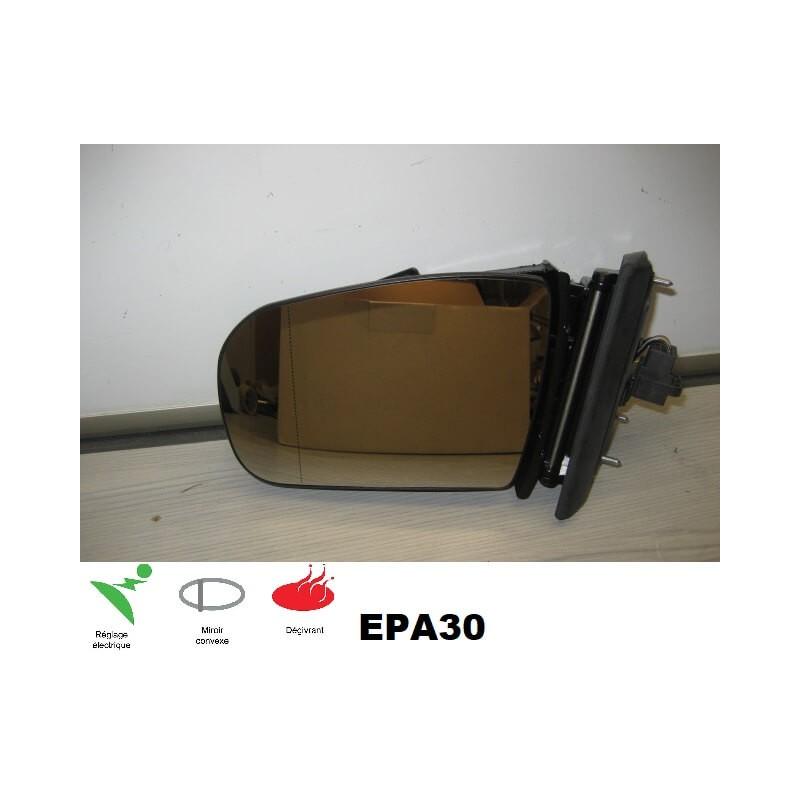 RETROVISEUR CHAUFFEUR MERCEDES CLASSE E (W210/S210) 07/99-02/02 - EPA30 - .