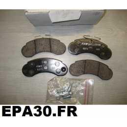 PLAQUETTES DE FREIN AVANT MERCEDES Classe G SUV W460 W461 W463 W463 MB100 - EPA30 - .