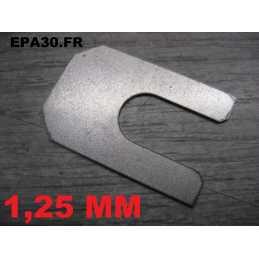 CALE REGLAGE TRAIN AVANT TRIANGLE SUP. SIMCA 1000 RALLYE 1 2 3 - 1.25MM - EPA30 - .