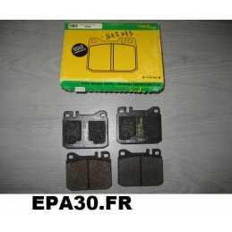 PLAQUETTES AVANT MERCEDES W123 W126 SE SEL SL S123 C123 SEC R107 R129 SLC C107 200 230 240 280 300 380 420 500 560 - EPA30 - .