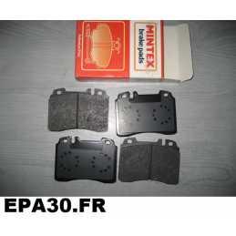 PLAQUETTES DE FREIN AVANT MERCEDES 190 W201 W124 W210 Classe E C S CLK SL CE 300 320 400 430 500 - EPA30 - .