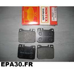 PLAQUETTES DE FREIN AVANT MERCEDES C107 COUPE R107 ROADSTER W116 W123 - EPA30 - .
