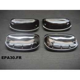 JEU 4 COQUILLES PROTECTION POIGNEES DE PORTES SIMCA 1000 - EPA30 - .