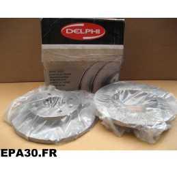DISQUES DE FREIN AVANT RENAULT R11 R19 1 2 R21 R9 CLIO 1 2 KANGOO MEGANE 1 SUPER 5 THALIA 1 2 - EPA30 - .