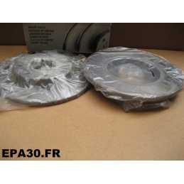 PAIRE DE DISQUES DE FREIN AVANT PEUGEOT 106 205 206 306 309 405 CITROEN C15 SAXO ZX - EPA30 - .