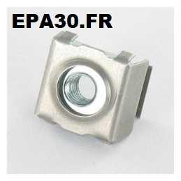 1 ECROU CAGE M5 FIXATION TABLEAU DE BORD SIMCA 1000 RALLYE 1 2 3 - EPA22558 - EPA30 - .