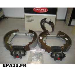 KIT DE FREIN ARRIERE RENAULT CLIO 1 ESPACE 2 EXPRESS EXTRA RAPID SAFRANE 1 - EPA30 - .