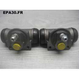 2 CYLINDRES ROUES AR SIMCA 1000 1100 1200S D. 19MM - EPA4702