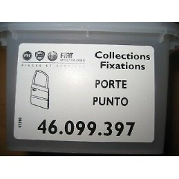 KIT DE FIXATION GARNITURE PORTE FIAT PUNTO  - EPA30 - .