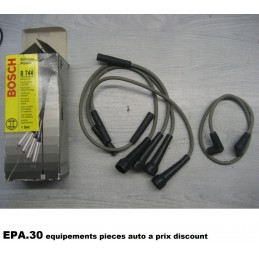 KIT CABLES ALLUMAGE RENAULT R11 R9 VOLVO 340  - EPA30 - .