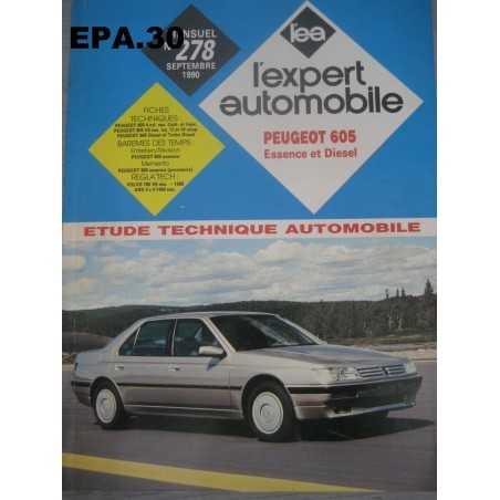 RTA EA PEUGEOT 605 ESSENCE DIESEL - EPA30 - .