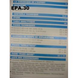 RTA EA PEUGEOT 605 ESSENCE DIESEL - EPA30.