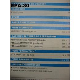RTA EA PEUGEOT 106 MOTEUR TU - EPA30 - .