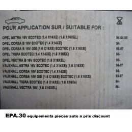 KIT DE DISTRIBUTION OPEL ASTRA F COMBO B CORSA B TIGRA VECTRA B  - EPA30.