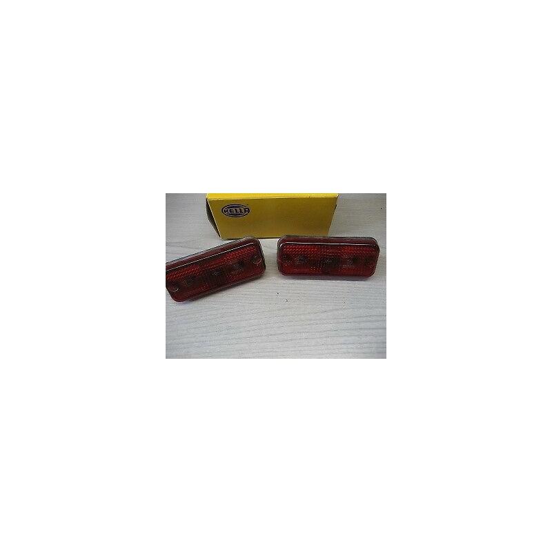 2 FEUX GABARIT ROUGE REMORQUE CARAVANE CAMION - 2SA961167011 - EPA30.